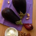 Padlizsán saláta török joghurtos öntettel