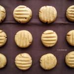 Karácsonyra hangolódás 3: Vegán mogyoróvajas keksz