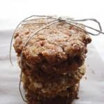 Anzac, vagyis zabpehely-kókusz keksz