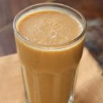 Szuper reggeli: Fűszeres sütőtök mandulatej turmix