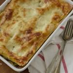 Leveleskel és gomba lasagne, a fenséges ebéd