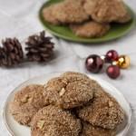 Vegán gyömbéres fűszeres keksz