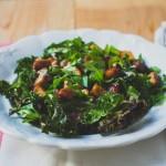 Leveleskel tempeh saláta