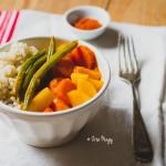 Villámgyors vegán téli zöldséges curry