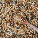 Diós kókuszos árpapehely granola