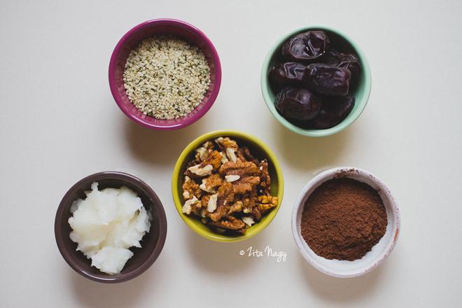 Nyers csokikrémes brownie + Nyereményjáték