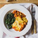 A legfenségesebb pásztor pite – Sheperd's pie – (vegán)