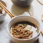 Gyógyító miso leves (vegán)