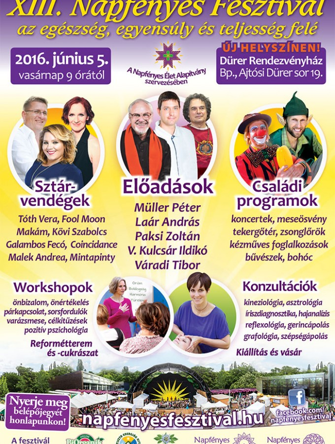 Napfényes Fesztivál (programajánló)