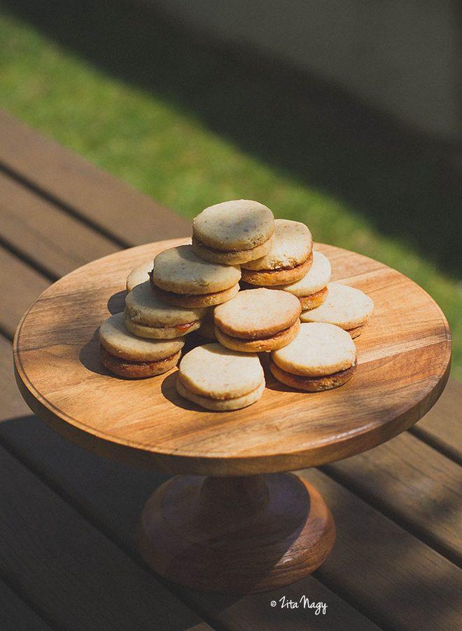 Omlós diós-lekváros keksz (vegán)