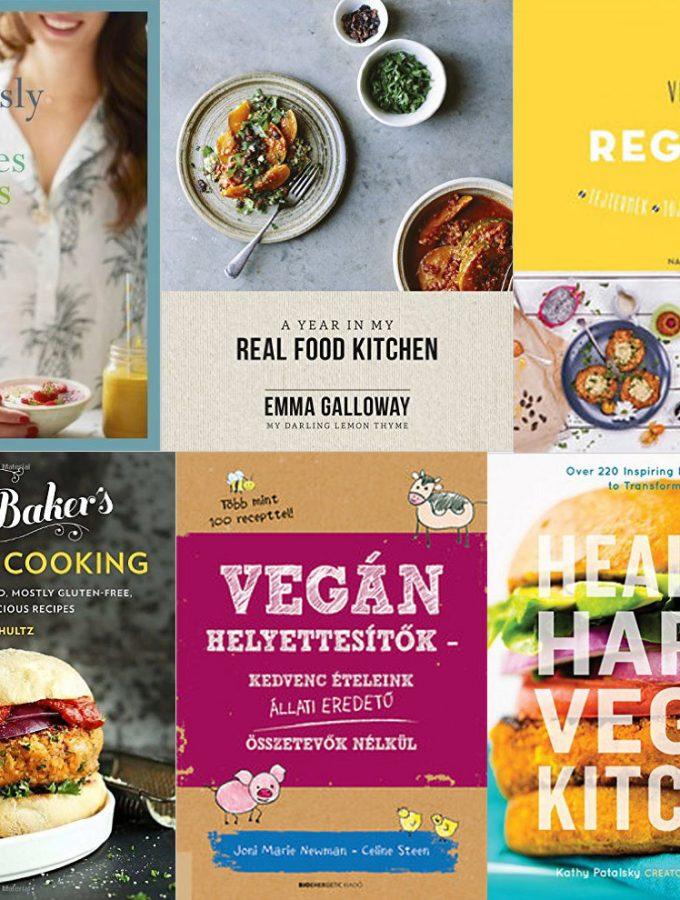 Vegetáriánus, vegan szakácskönyv ajánló (karácsonyra)