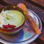 Krémes zöld banánfagylalt (laktózmentes, gluténmentes, cukormentes, vegán)