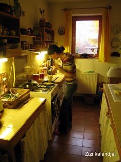 Zizi, ha főz