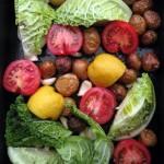 Sült zöldséges finomság