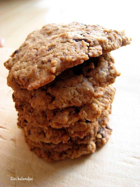 Földimogyoróvajas csokis keksz