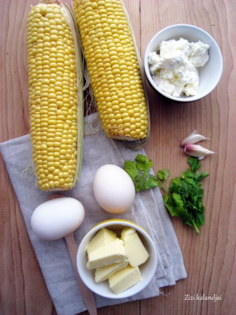 Kukoricás palacsinta korianderes sajtkrémmel