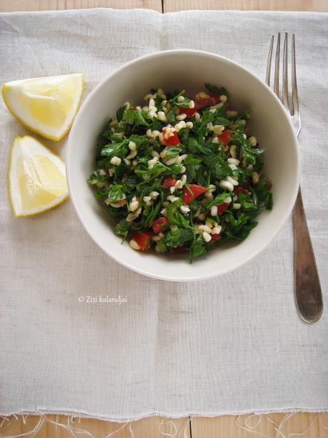 Tabulé (laktózmentes, vegán)
