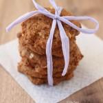Almaszószos fahéjas keksz (laktózmentes, vegán)