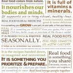 Mi a valódi, igazi étel?