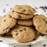 Chocolate chip cookies (laktózmentes, vegán)
