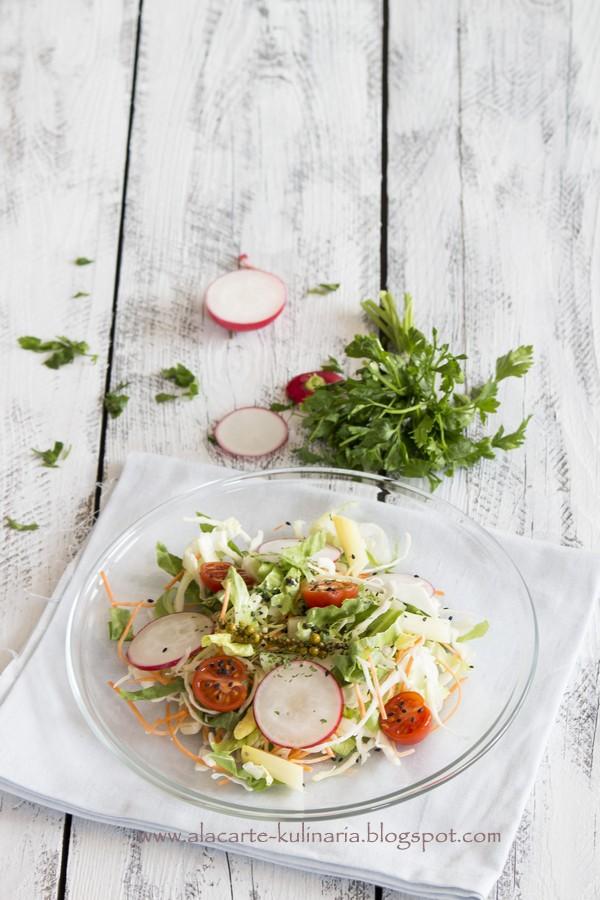 Ropogós saláta – Vendég bejegyzés A'la carte kulináriától