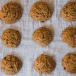 Mandulás földimogyorós keksz (laktózmentes, vegán)