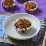 Vegán sütőtökös áfonyás diós muffin