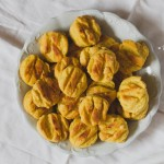 Vegán (édes)burgonyás pogácsa