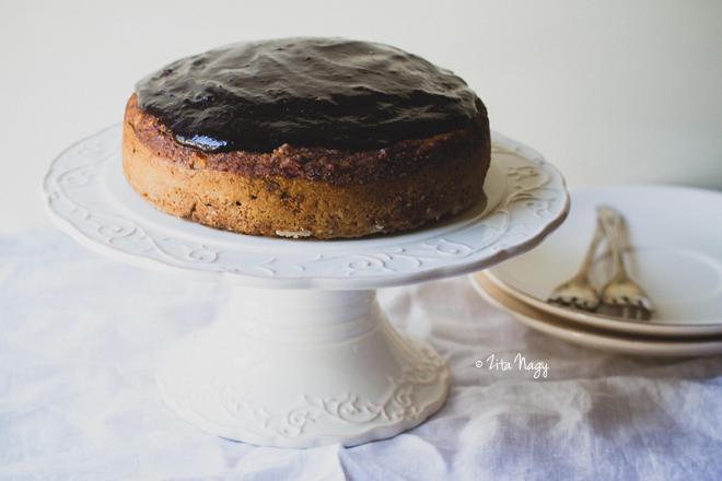 A második születésnapi torta (laktózmentes, vegán)
