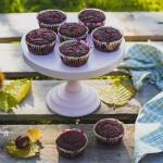 Sütőtökös diós és kakaós muffin (vegán)