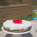 A negyedik születésnapi torta (nyers, laktózmentes, gluténmentes, vegán)