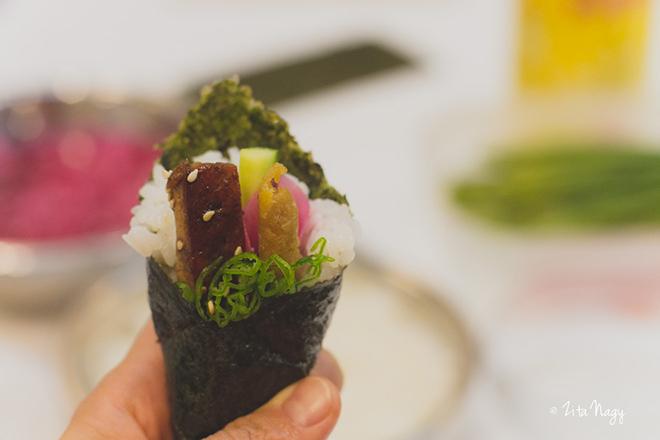 Vegán sushi haladó kurzus a Napfényes Étteremnél