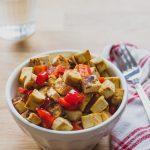 Ropogós pirított tofu kápia paprikával (laktózmentes, gluténmentes, vegán) + Smartchef szakácsrobot készülék tesztelése