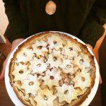 Almás pite (laktózmentes, vegán)