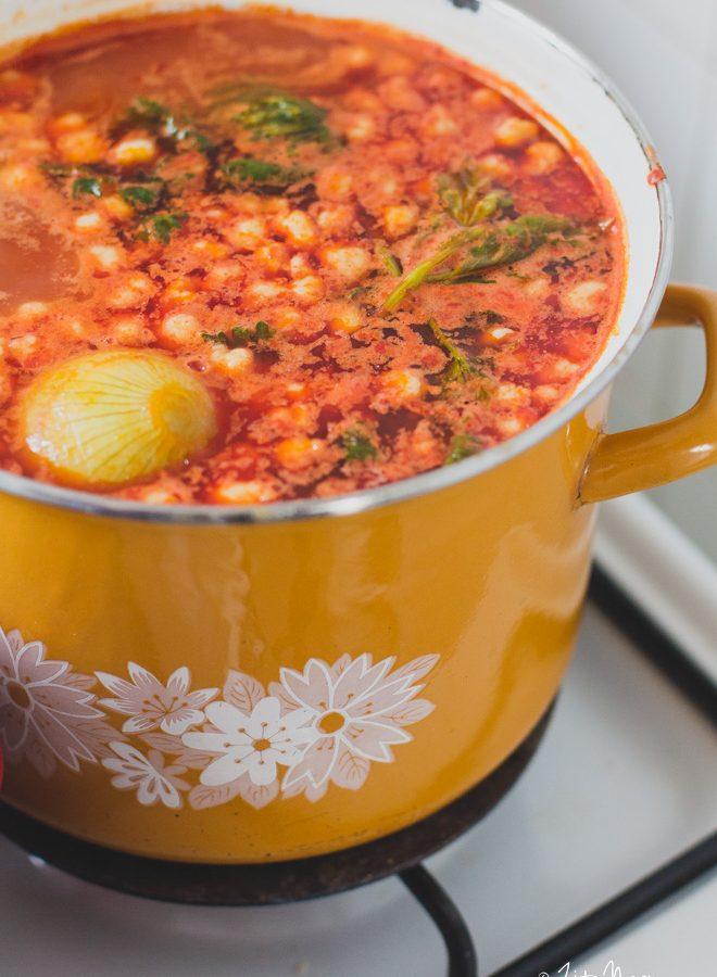 Retro ebéd a nagyinál – Régimódi paradicsomleves (laktózmentes, vegán)