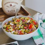 Görög saláta (laktózmentes, gluténmentes, vegán)