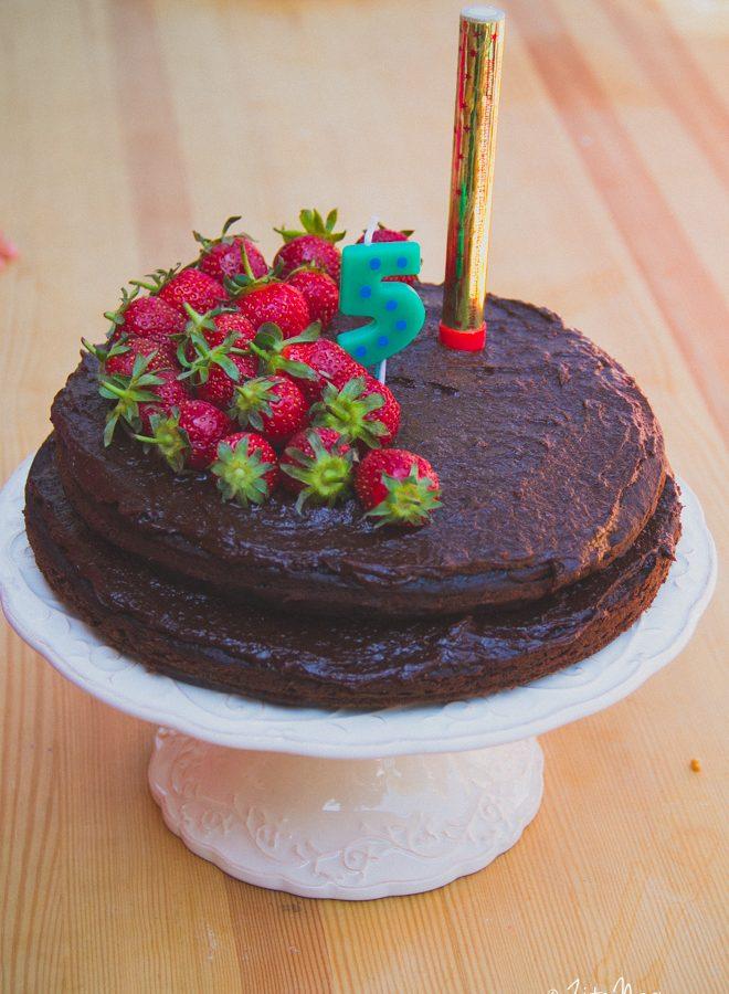 Az ötödik születésnapi torta (laktózmentes, vegán) + Erdő Ajándéka Erdei Iskola (videó) + kedvezménykupon