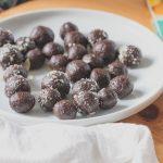 Mandulás csokigolyók (laktózmentes, gluténmentes, vegán)