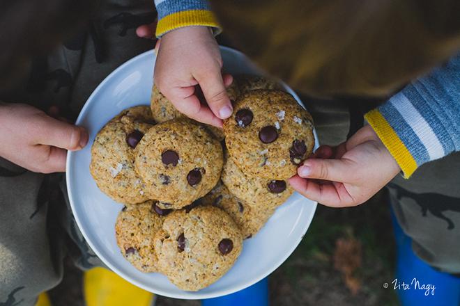 Villámgyors csokoládés keksz (laktózmentes, vegán)