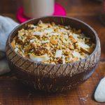 Kókuszos-tahinis hajdina granola (laktózmentes, gluténmentes, vegán)