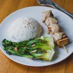 Tofu satay, az indonéz étel (laktózmentes, gluténmentes, vegán) + Zizi konyhája főzőkurzusok