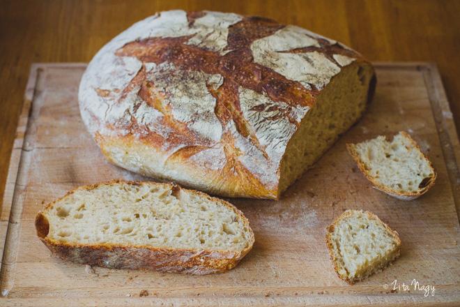 Kovászos kenyér sütés otthon – péksuli apával