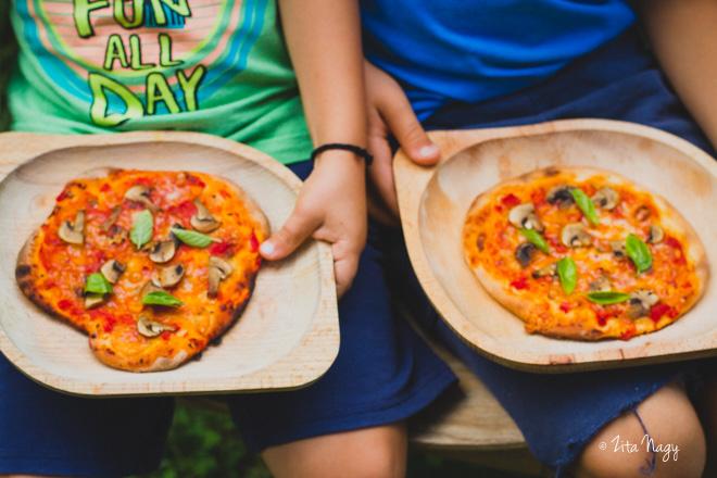 A világ legegyszerűbb pizzája (laktózmentes, vegán)