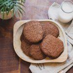 Ádám mandulás keksze (laktózmentes, vegán)