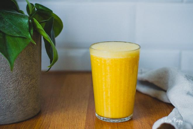 C vitamin bomba turmix  (laktózmentes, gluténmentes, vegán) – Turmix kihívás 4. nap